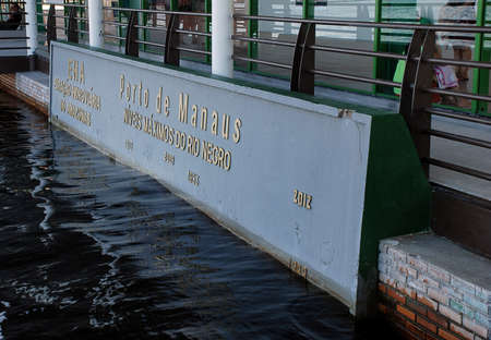 The historical high water marks at the Port of Manaus, Brazil Publikacyjne