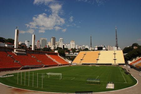 The Pacaembu Stadium (Estadio Municipal) in Sao Paulo, Brazil