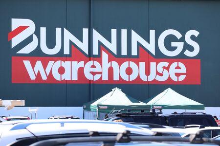 Tweed, New South Wales, Australia, January 19 2020:Bunnings Business sign Australia