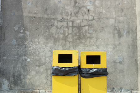 city trash cans
