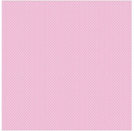Polka dot seamless pattern. White dots on pink background.