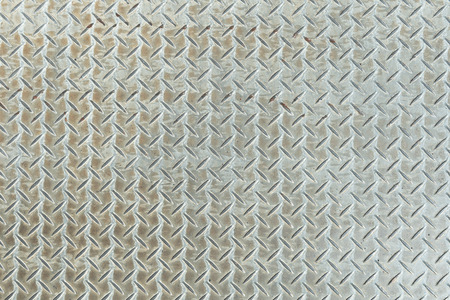 pattern style of steel floor for background Stock Photo