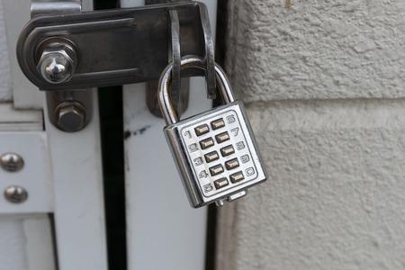 Closed metal lock door security protection padlock,combination lock