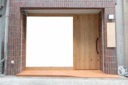 side walk with Big Window and door