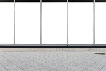 Store Front with Big Window