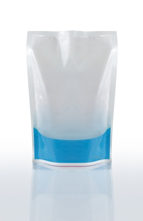 plastic liquid product container. ready for your design Stock Photo - 9090844