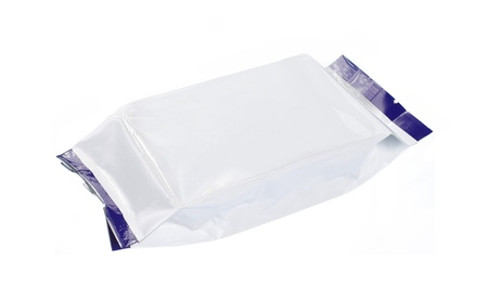 plastic art: blank plastic pack suitable for your design Stock Photo
