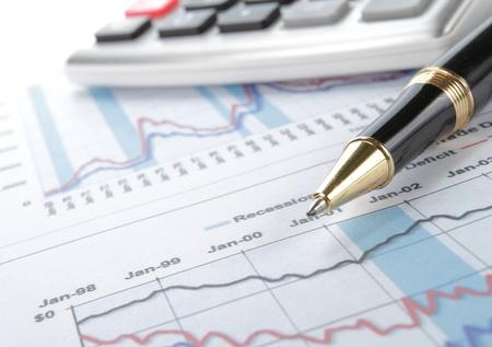 balancesheet: Business background, financial data concept with pen