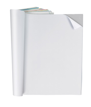 blank magazine page, ready for your design photo