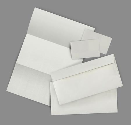 hojas membretadas: conjunto de plantillas de identidad corporativa. cada uno de ellos dispar� por separado