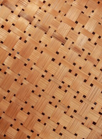 interlace: handcraft of bamboo weave pattern
