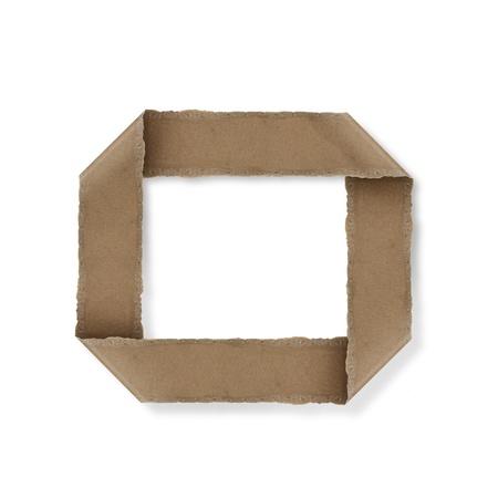 Origami-Stil Buchstaben des Alphabets. hoher Auflösung auf weißem Hintergrund. o