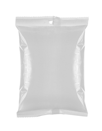 plastic bag snack package. for another blank packaging visit my gallery