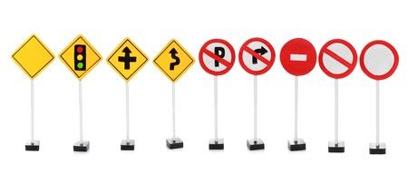 Schild mit leeren Raum für Ihr Design auf weißem Hintergrund Standard-Bild