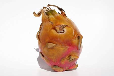dragonfruit: A dragonfruit on white