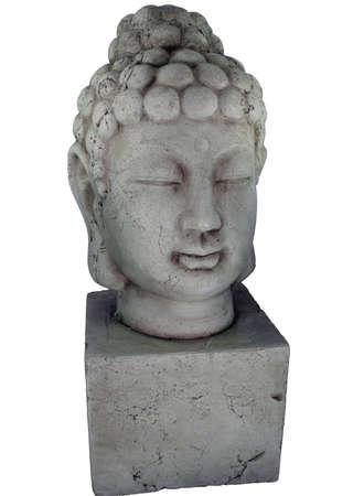 仏頭像分離。