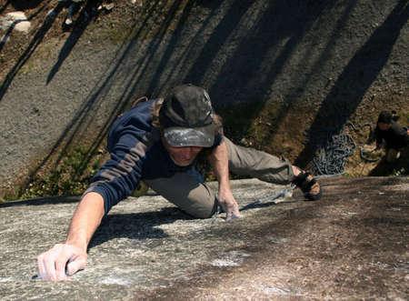 tenacity: Rock climbing in British Columbia.