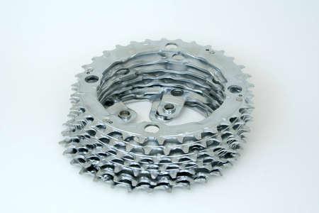 Un montón de ruedas dentadas. Foto de archivo - 367850