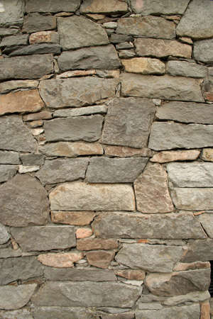 masonary: A stone wall. Stock Photo