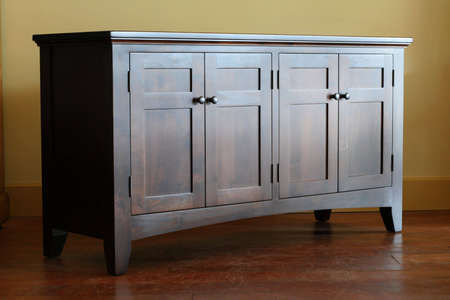 A shaker buffet showing fine craftsmanship.