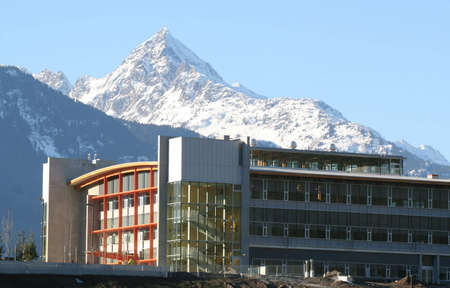 A new university campus in Squamish, BC, Canada.