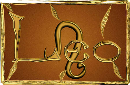Leo, zodiac sign Stock Photo - 2701396