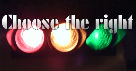 Choose The Right.... photo