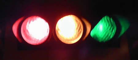 Traffic light, symbol for chosing the right choice photo