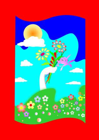 pentecost: springtime Stock Photo