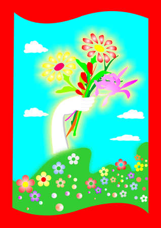 pentecost: Spring is coming Illustration