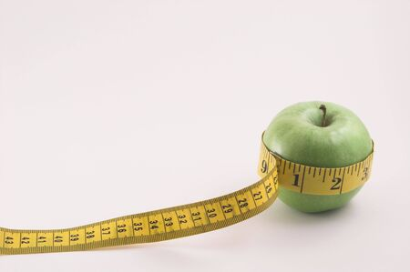 Apple and Tailors Measuring Tape photo