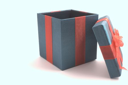 december 25th: Christmas Present Gift Box