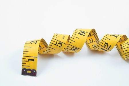 tape line: Tailors Measuring Tape Stock Photo