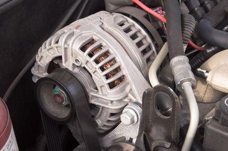 alternator: automobile alternator