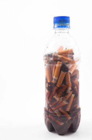 butts papierosa w butelce Zdjęcie Seryjne - 784717