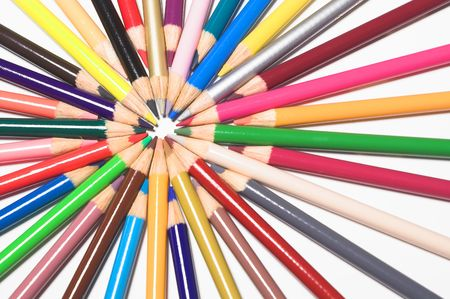 colored pencils Stock Photo - 784747