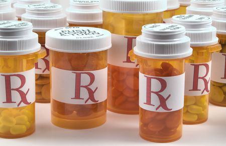 Prescription Medicine Bottles photo