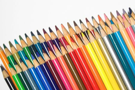 Colored Pencils Stock Photo - 760384