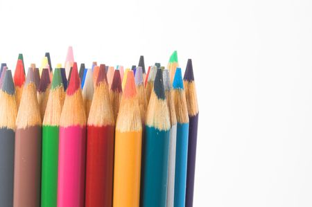 Colored Pencils Stock Photo - 760385