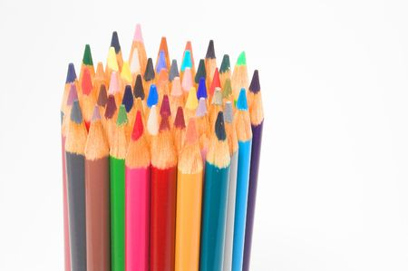 Colored Pencils Stock Photo - 760383
