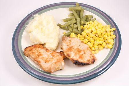 pork chop: Pork Chop Dinner
