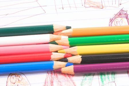 colored pencils Stock Photo - 784728