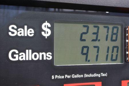 unleaded: Gas Pump Display