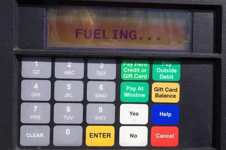 Gas Pump Display Keypad Stock Photo - 797995