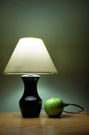 rejuvenated: Apple Powered Lamp