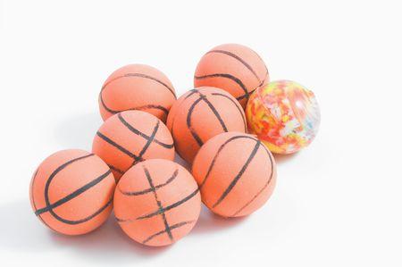 弾むボール