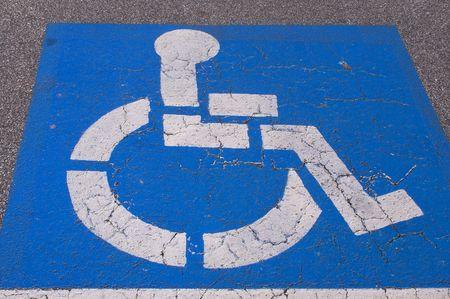 Handicap Parking Stock Photo - 789325