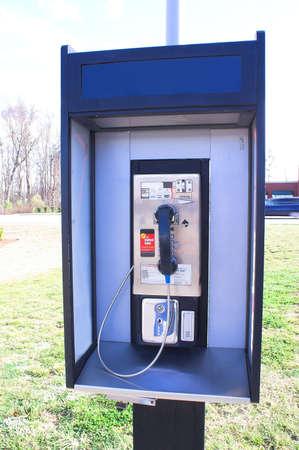 Betaal Telefoon Stockfoto