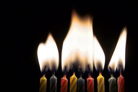 candeline compleanno: Compleanno Candele Archivio Fotografico