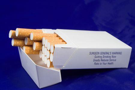 Sigaret Pack Stockfoto